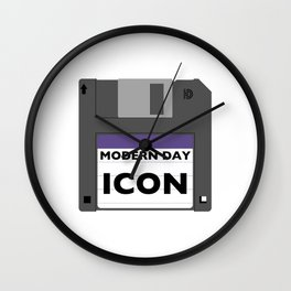 Modern Day Icon Wall Clock