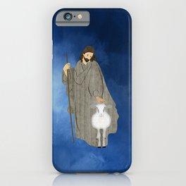 Jesus of Nazareth the Good Shepherd iPhone Case