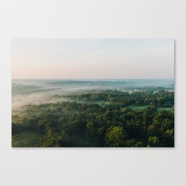 Kentucky from the Air Canvas Print