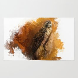 Expressions Red Tailed Hawk Rug