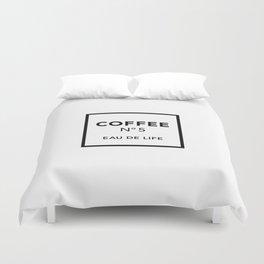 Coffee No5 Duvet Cover
