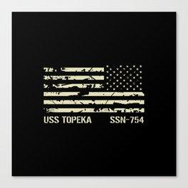 USS Topeka Canvas Print