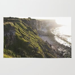 The Beautiful Cliffs of France Rug