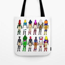 Superhero Butts - Girls Superheroine Butts LV Tote Bag