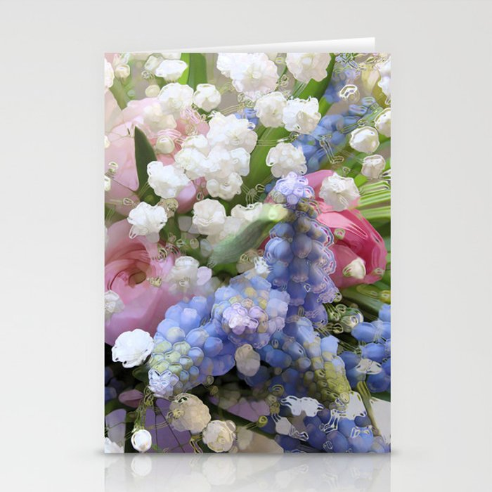 Spring Energy Stationery Cards