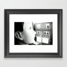 JAWN 3. Framed Art Print