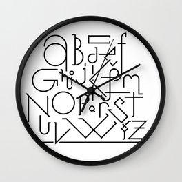 ABCD… Wall Clock