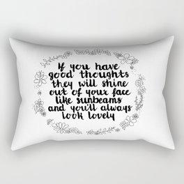 Sunbeams Rectangular Pillow