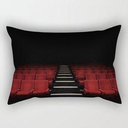 Red Theater Rectangular Pillow