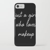 makeup iPhone & iPod Cases featuring Makeup by I Love Decor