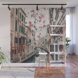 Venice Floral Sky Wall Mural