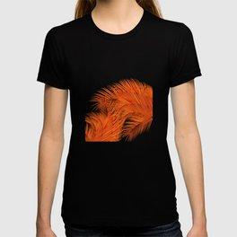 Palm Leaves, Orange T-shirt