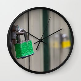 Padlocks Wall Clock