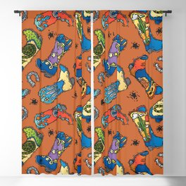 Cowboy-Cowgirl Boots Blackout Curtain