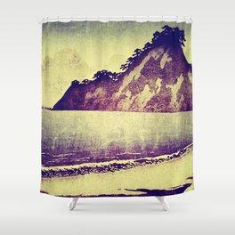 Thick Skin - Towering Over Hitai Shower Curtain