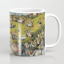 THE GARDEN OF EARTHLY DELIGHT - HEIRONYMUS BOSCH Coffee Mug