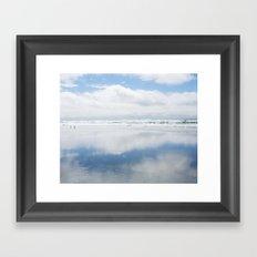 Two Blue Skies Framed Art Print