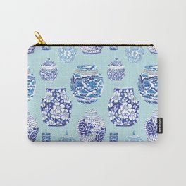 Chinoiserie Ginger Jar Collection No.3 Carry-All Pouch