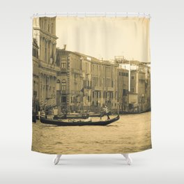 Venice, Grand Canal 5 Shower Curtain
