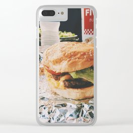 burger? Clear iPhone Case