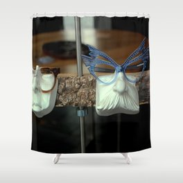 The Brown Nose - Feeling Blue Shower Curtain