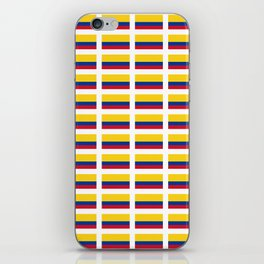 Flag of Colombia 2 -Colombian,Bogota,Medellin,Marquez,america,south america,tropical,latine america iPhone Skin