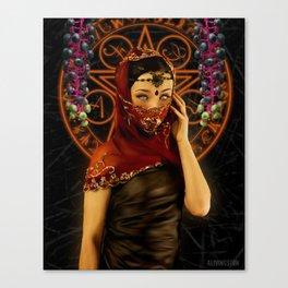 Saint Poke Canvas Print