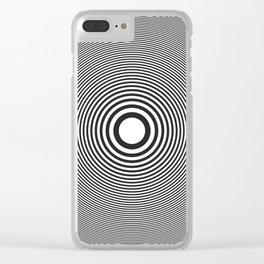 speaking loudest Clear iPhone Case