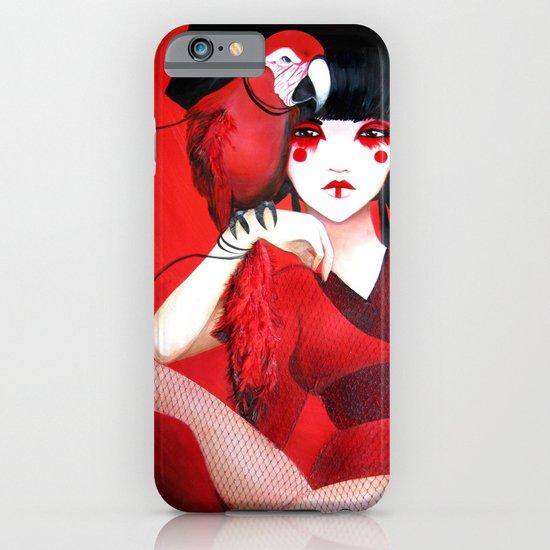 Kimiko the Geisha in Red iPhone & iPod Case