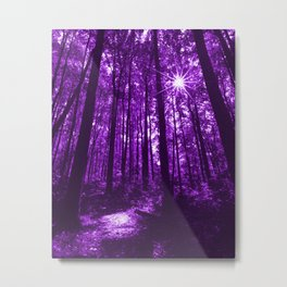 Shenandoah Violet Metal Print
