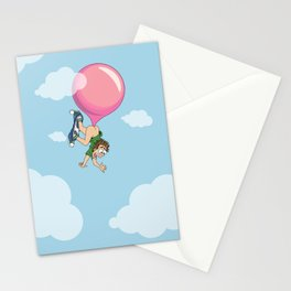 Don't Swallow Your Bubble Gum Stationery Cards