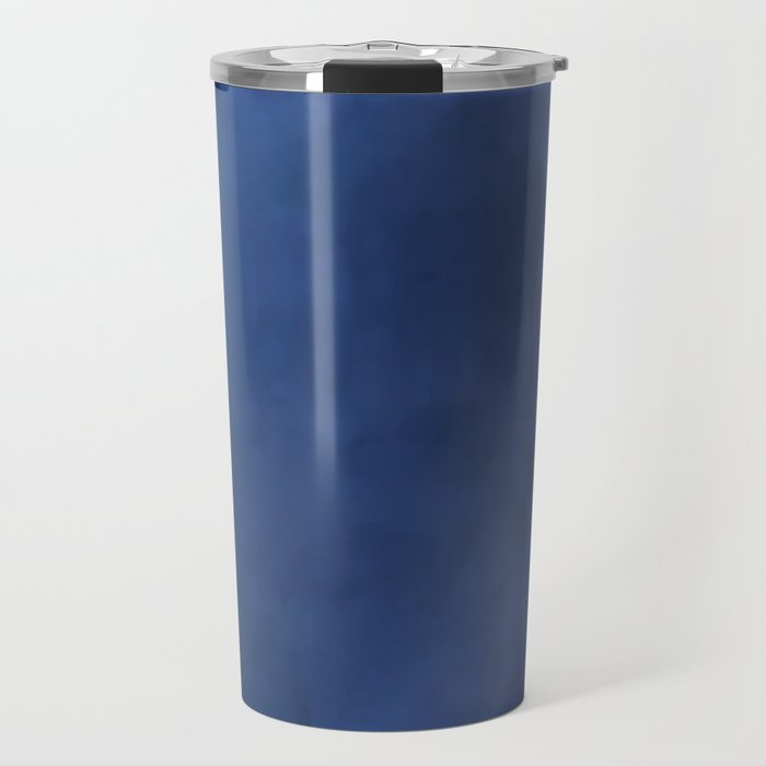 Rainbow Iris Blue Travel Mug