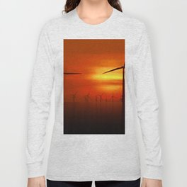 Clean Power (Digital Art) Long Sleeve T-shirt