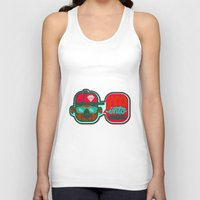 indie Tank Tops featuring I'm Into Indie by chobopop