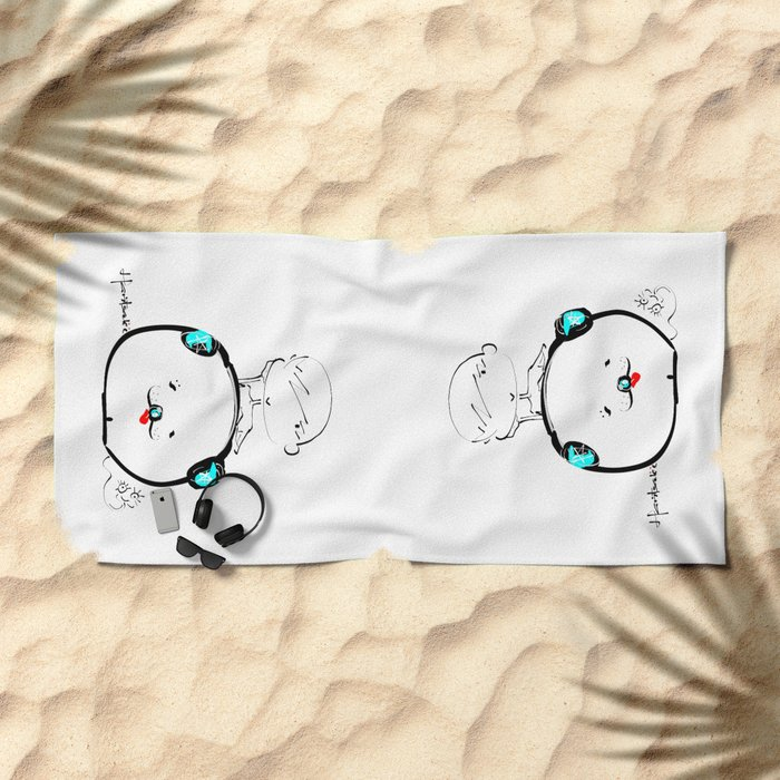haritsadee 13 Beach Towel