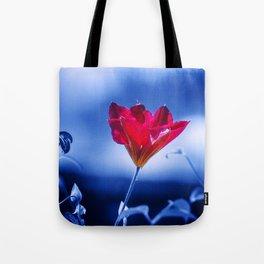 Red Flower, Natural Dominance Tote Bag