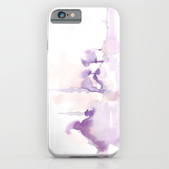 Watercolor landscape illustration_Istanbul iPhone & iPod Case