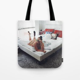 Lounge Around in Shades Tote Bag