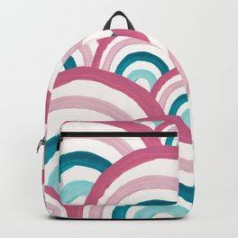 Rainbow Dream Pattern #2 (Kids Collection) #decor #art #society6 Backpack