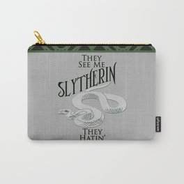 They See Me Slytherin Carry-All Pouch