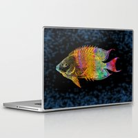 fish Laptop & iPad Skins featuring  Fish by Vitta