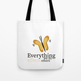 WISE BUTTERFLY Tote Bag