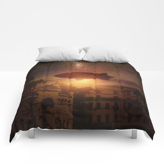 A Trip down the Sunset II Comforters