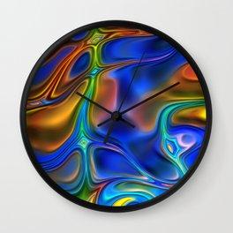 Energy Liquids 6 Wall Clock