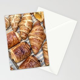 Croissants Stationery Cards