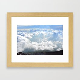 Rainbow Cloud Framed Art Print