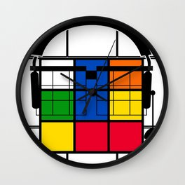 Nerd Rubik Wall Clock