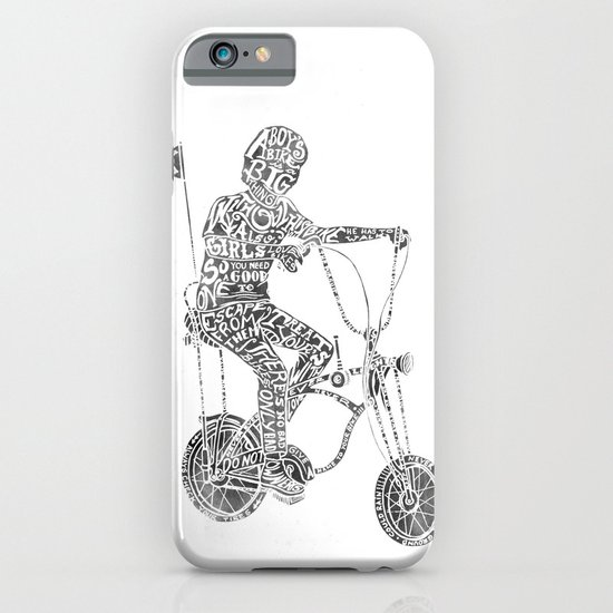 A boy's thing iPhone & iPod Case