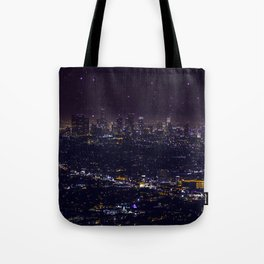 Stars Over Los Angeles II Tote Bag