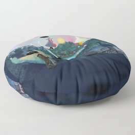 Magical Skies Floor Pillow